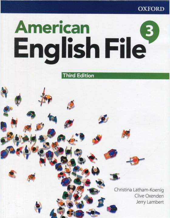 کتاب american english file 3