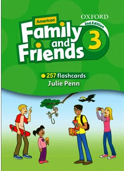 کتاب Flashcards-American-Family-and-Friends-3-Second-Edition-1