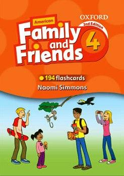 کتاب Flashcards-American-Family-and-Friends-4-Second-Edition-1