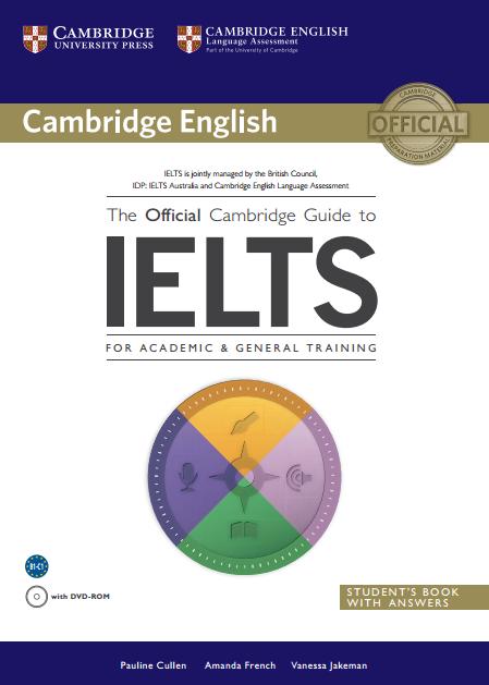 آزمون آیلتس کتاب The Official Cambridge Guide