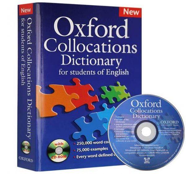 کتاب oxford-collocation-doctionary