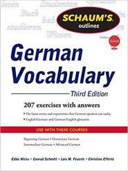 Schaum's Outlines German Vocabulary Third Edition