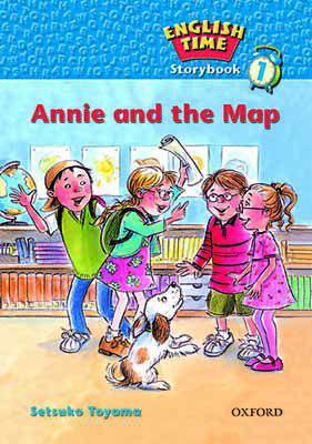 کتاب English-Time-Storybook-1-Annie-And-The-Map