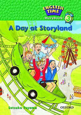 کتاب English-Time-Storybook-3-A-Day-at-Storyland