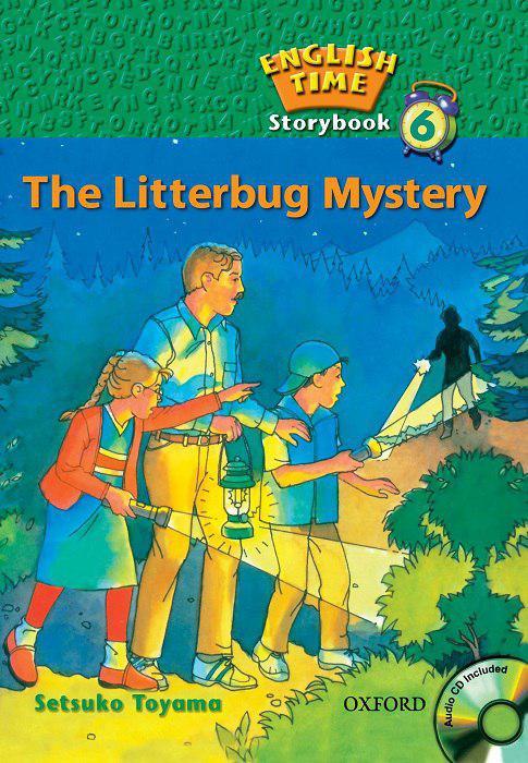 کتاب English-Time-Storybook-6-The-Litterbug-Mystery-1