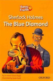 کتاب Family-and-Friends-Readers-4-Sherlock-Holmes-The-Blue-Diamond
