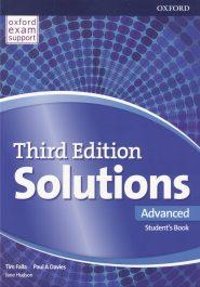 کتاب Solutions-Advanced-3rd-Edition-Students-Book