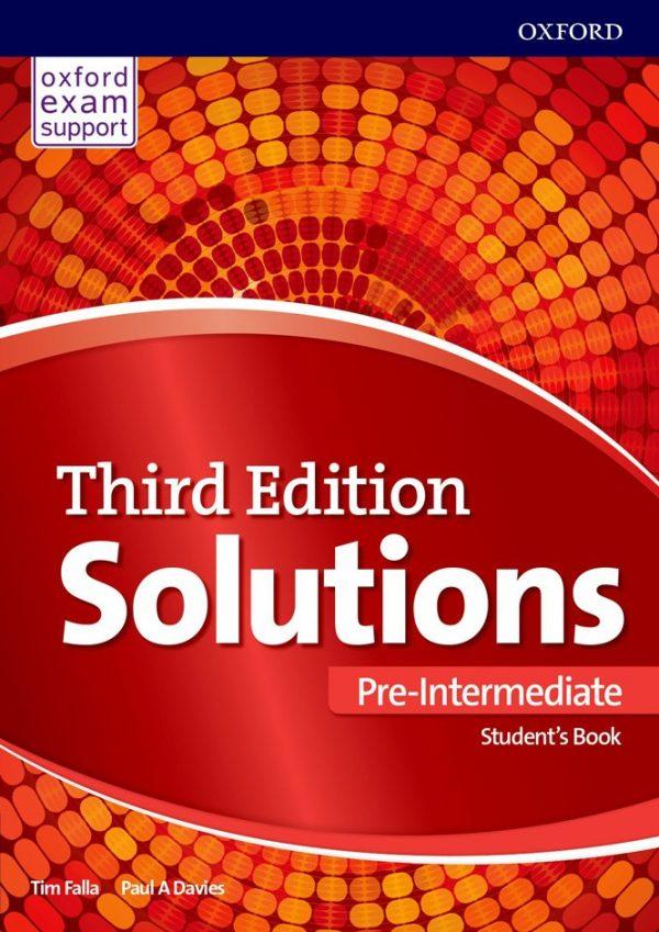 کتاب Solutions-Pre-Intermediate-3rd-Edition-Students-Book