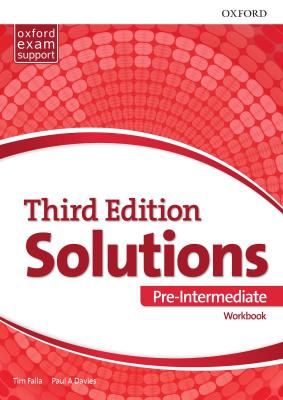 کتاب Solutions-Pre-Intermediate-3rd-Edition-Workbook
