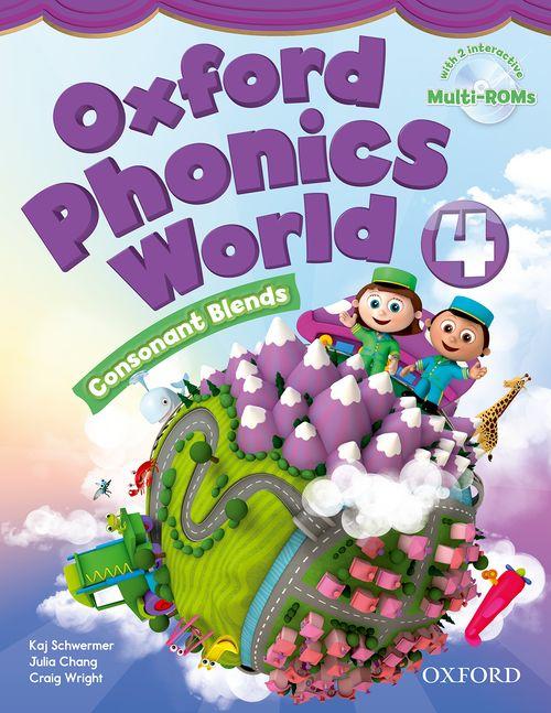کتاب Oxford Phonics World 4