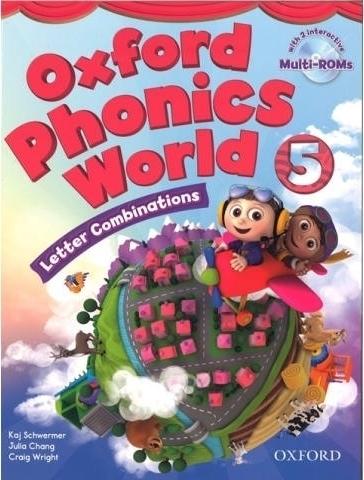 کتاب Oxford Phonics World 5