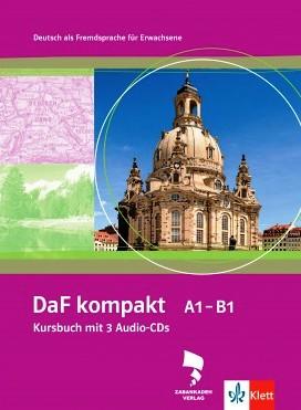"""کتاب آموزش آلمانی به روش """"DaF kompakt"""""""