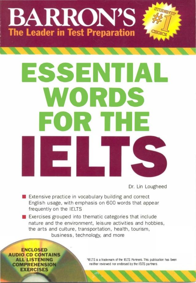 کتاب barrons-essential-words-for-ielts