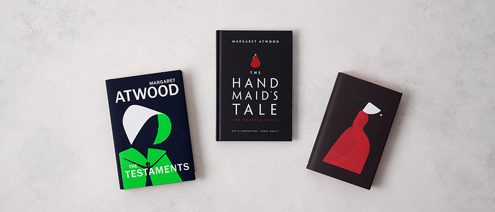 جلد کتابهای Hand Maid's Tale و The Testaments