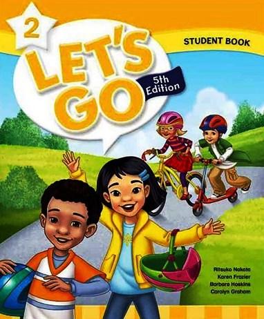 کتاب Lets-Go-2-5th-SB-WB-DVD