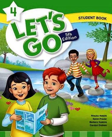 کتاب Lets-Go-4-5th-SB-WB-DVD