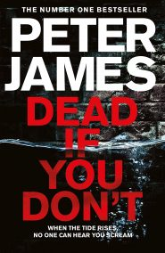 جلد کتاب peter james daed if you dont