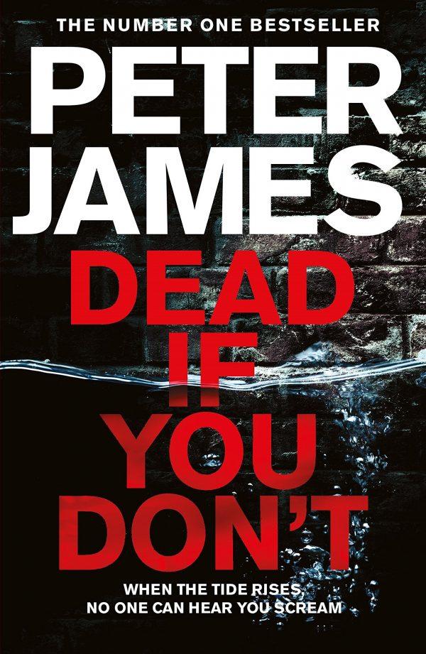 جلد کتاب peter james daed if you dont