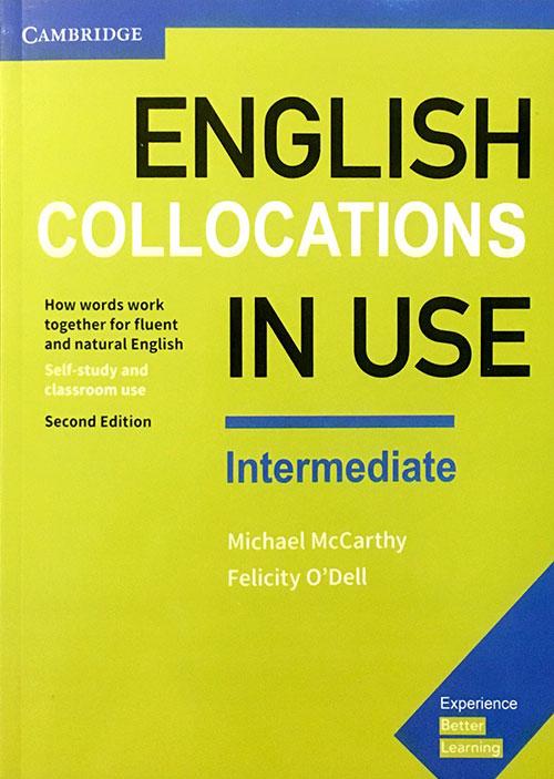 جلد کتاب English Collocation in use intermediate 2nd