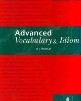 کتاب دیکشنری Advanced Vocabulary and Idiom